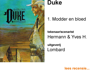 Recensie Duke 1 Modder en bloed door Hermann & Yves H.