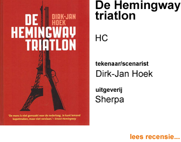 Recensie De Hemingway triatlon HC door Dirk-Jan Hoek
