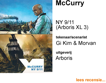 Recensie McCurry NY 9/11 door Jung Gi Kim & JD Morvan (Arboris XL 3)