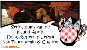 Recensie De wezentrein 1. Jim 2. Harvey 3. Lisa 4. Joey HC door Xavier Fourquemin & Philippe Charlot